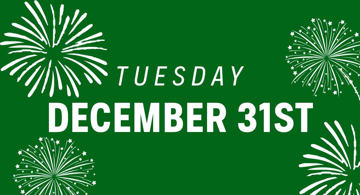 December 31st, 2019
