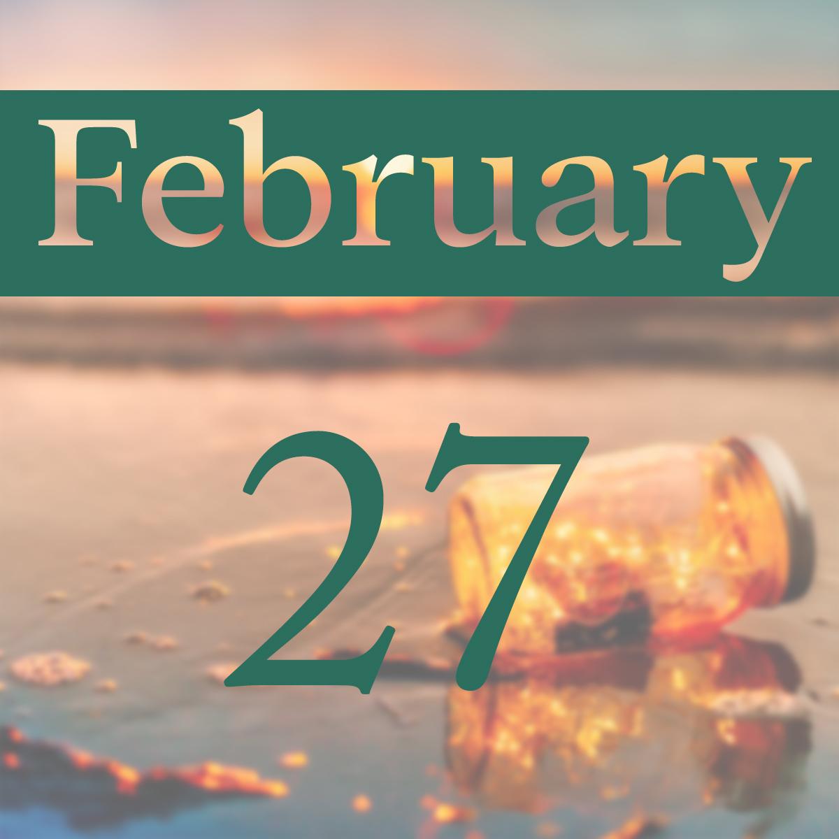 Thursday, February 27th
