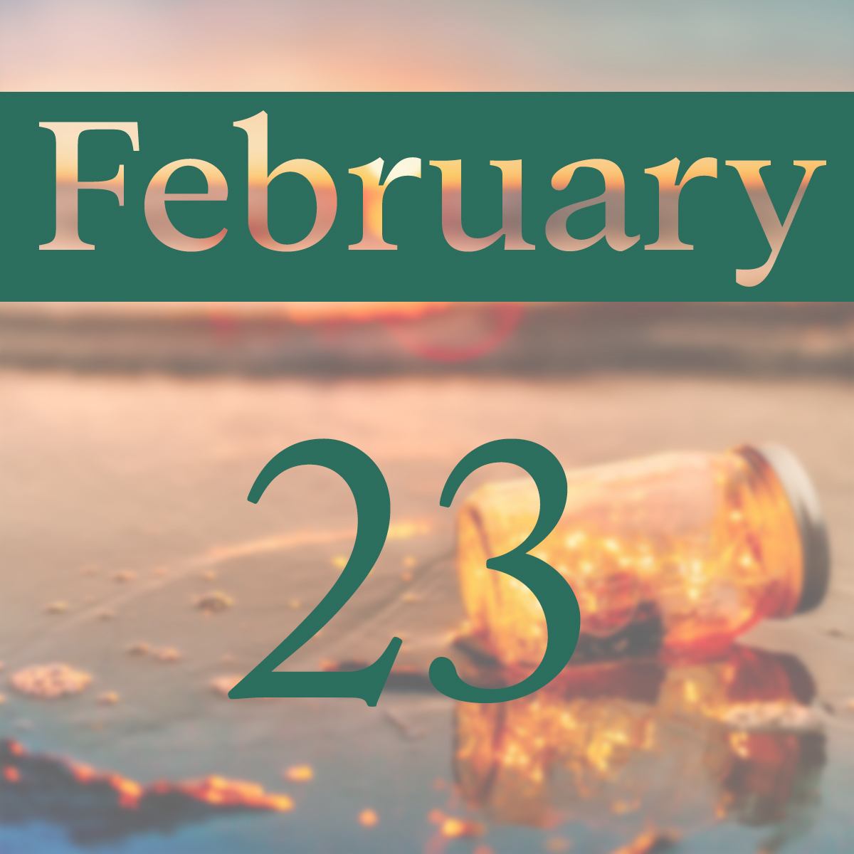 Sunday, February 23rd