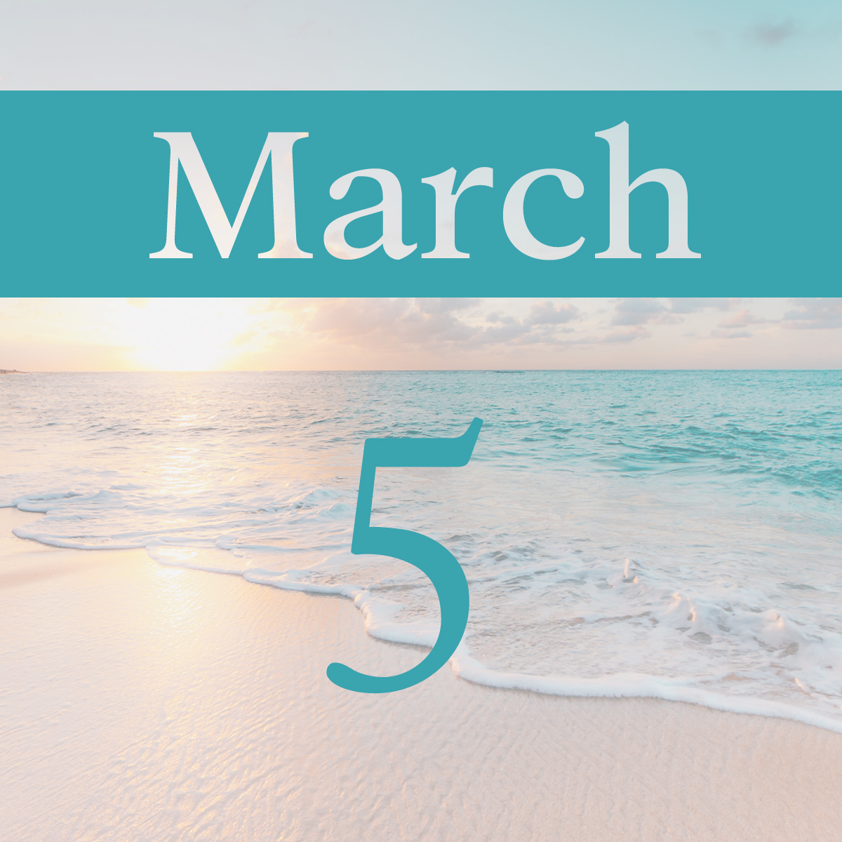 Thursday, March 5th