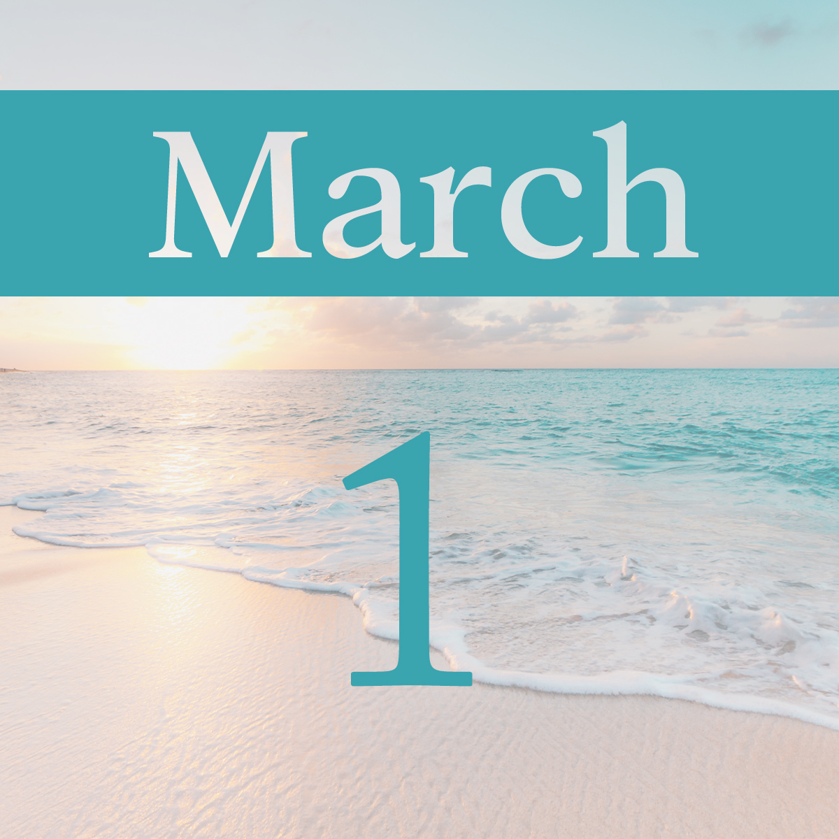 Sunday, March 1st
