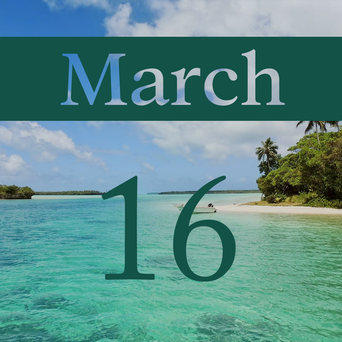 Monday, March 16th