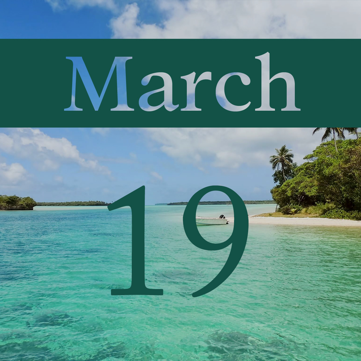 Thursday, March 19th