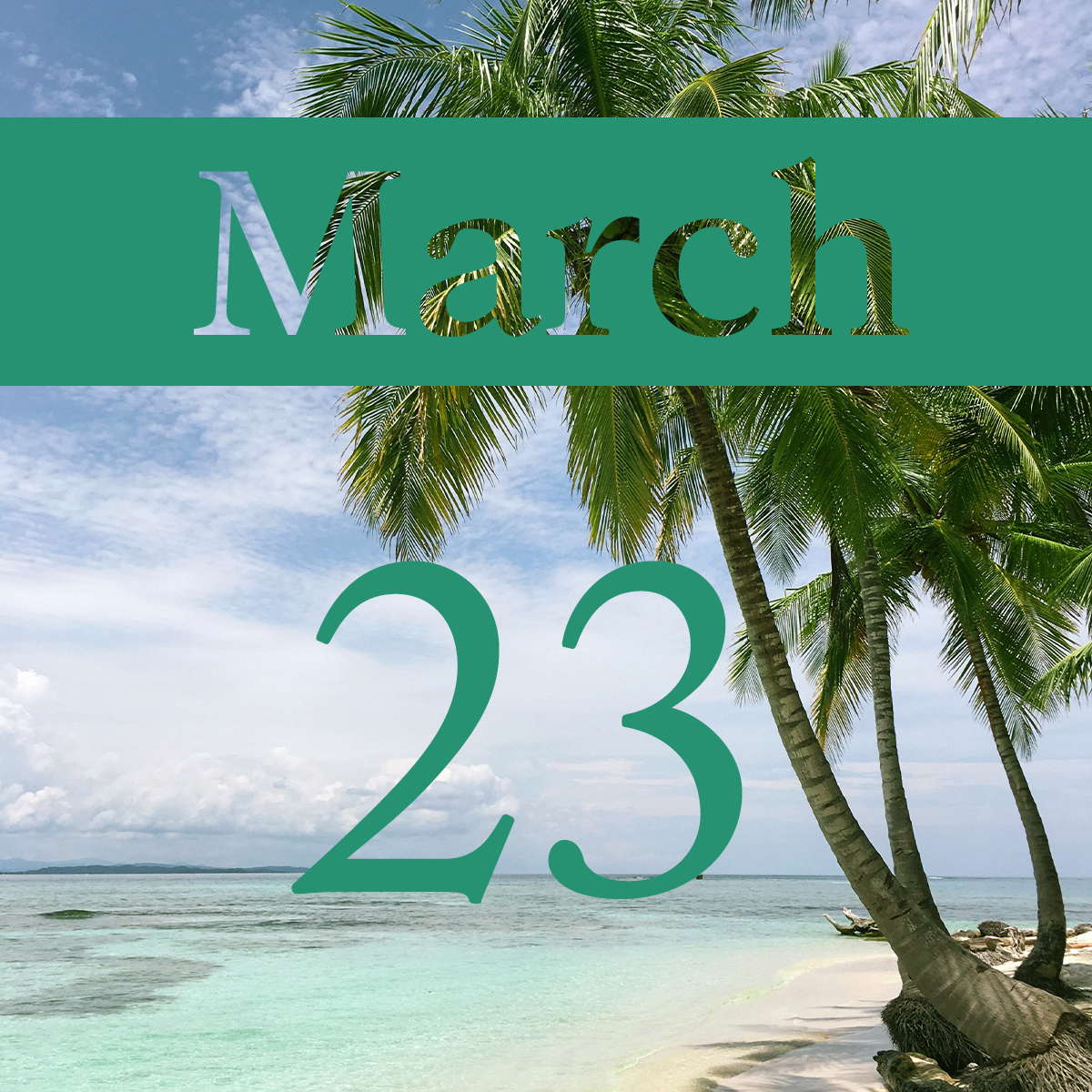 Monday, March 23rd